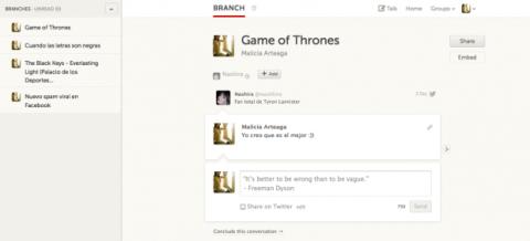 Añade usuarios a un branch publicado