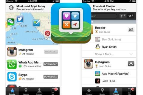Mapa de Apps: descubre las apps más utilizadas