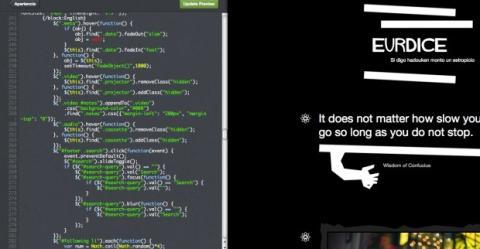 Edita el código HTML