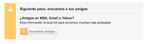 Encuentra amigos de Hotmail, Gmail y Yahoo! en Tuenti