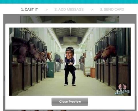 Gangnam Styte personalizado