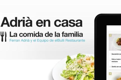 app ferrán adriá La Cocina de la Familia