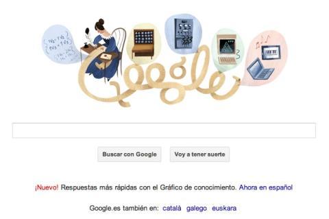 Doodle Ada Lovelace