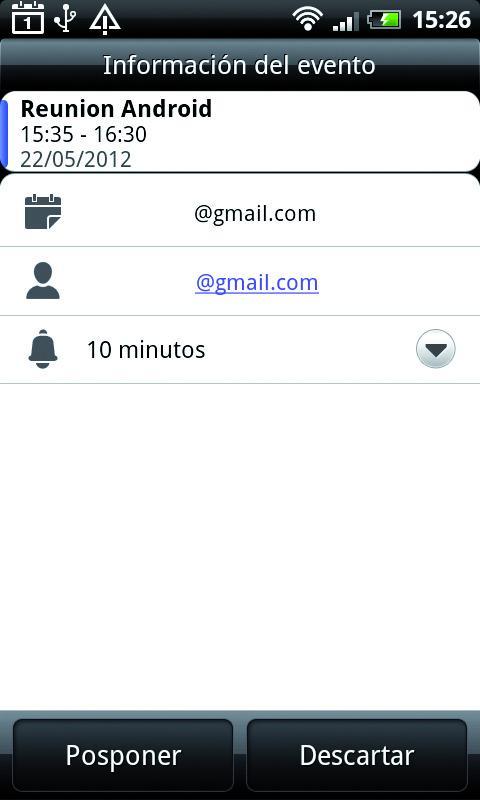 Envía la invitación a los contactos elegidos
