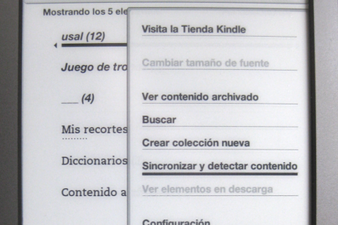 Sincroniza tu Kindle por Wifi