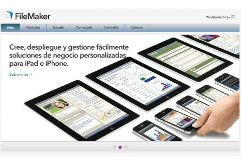 FileMAker Go supera las 500.000 descargas.