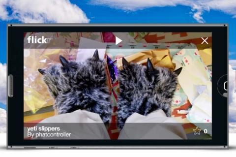 app Flickr para iOS