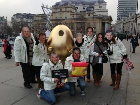 Selección española participante en All Star, la primera competición europea de Angry Birds en Samsung Smart TV