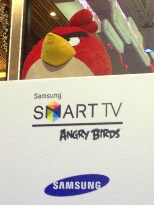 All Star Final, primera competición europea de Angry Birds en Samsung Smart TV