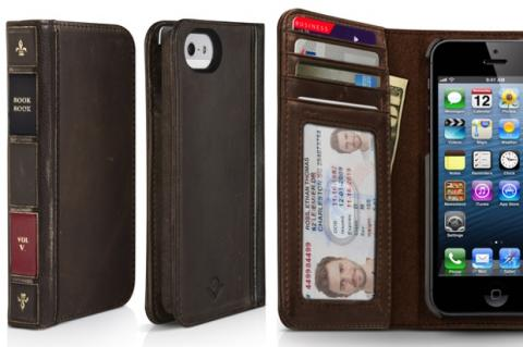 Funda BookBook para iPhone 5, realmente original