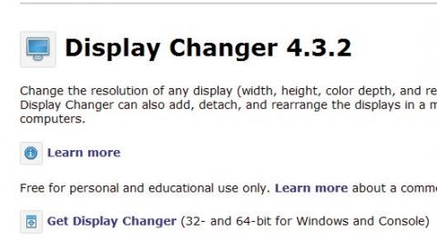 Icono de descarga de Display Changer