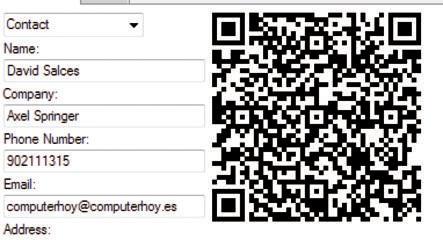 Imagen del código QR generado por el programa