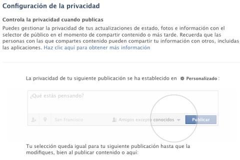 Nuevas mejoras en la privacidad de Facebook