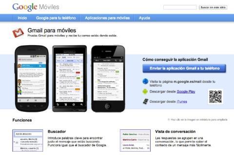 Gmail para móviles