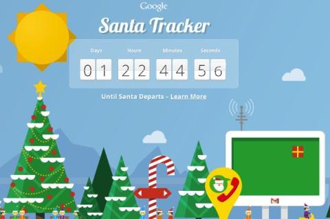 Google te ayuda a encontrar a Papá Noel