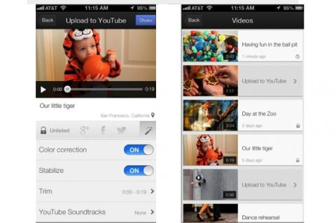YouTube Capture para iOS, app para subir vídeos a YouTube desde el iPhone