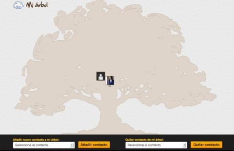 Crea tu árbol de contactos en Picyourlife
