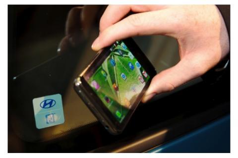 Hyundai ha presentado un sistema para controlar el acceso al coche con NFC