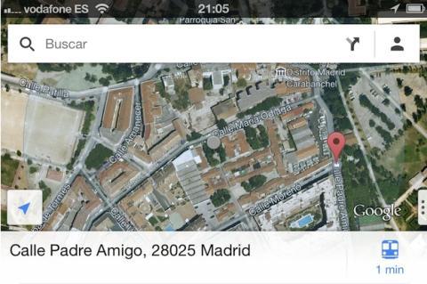 Guarda tus direcciones frecuentes en Google Maps para iPhone