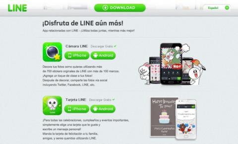 Descarga la app Tarjeta LINE