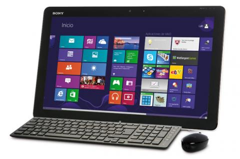 Sony VAIO Tap 20, un nuevo concepto de all in one