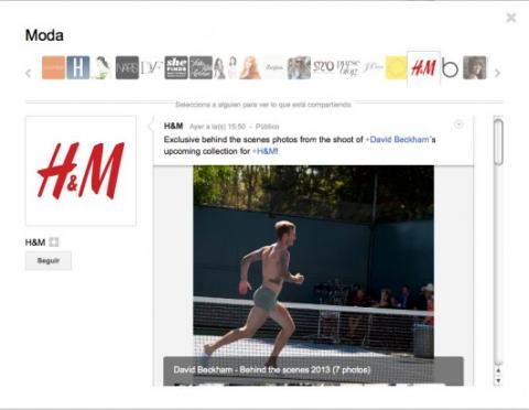 Sigue a personas y páginas interesantes en Google Plus