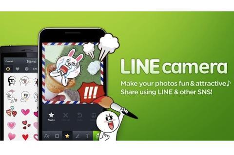 Edita tus fotos y aplica filtros con LINE Camera