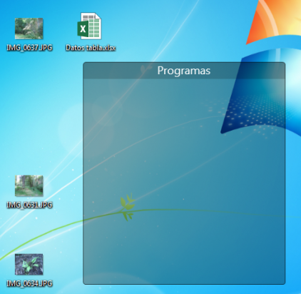 Área para programas