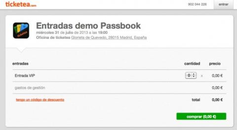Obtén un archivo para Passbook