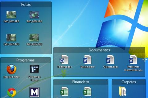 Organiza los iconos del escritorio de Windows con Fences