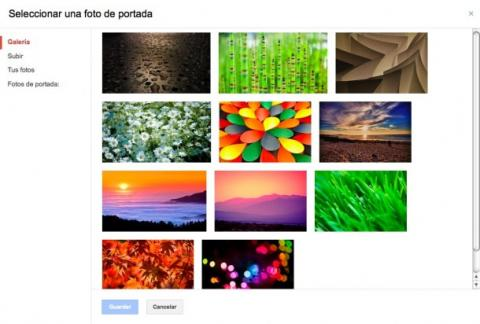 Añade una foto de portada en Google Plus
