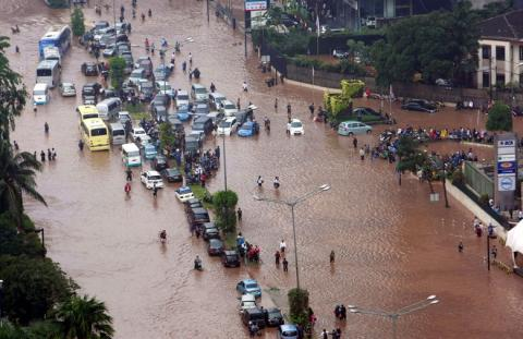 Indonesia Google inundaciones