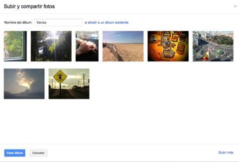 Publica fotos nuevas en Google Plus
