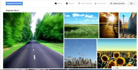 Organiza tus álbumes en Google Plus