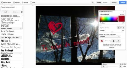 Añade texto a tus fotos de Google Plus