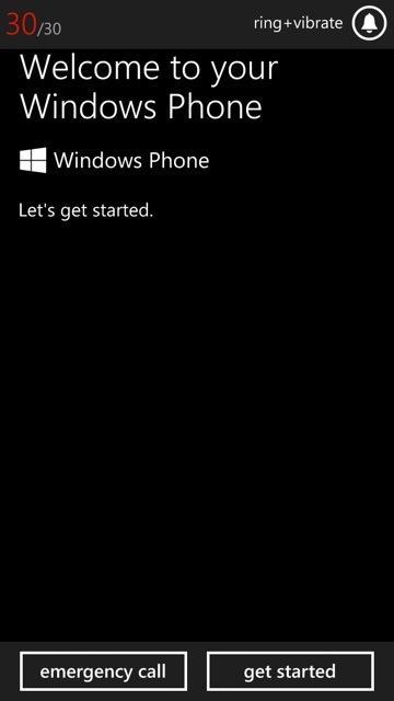 inicio windows phone 8