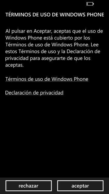 configuracion windows phone 8