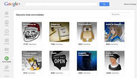 Accede a Comunidades en Google Plus