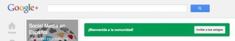 Invita a tus amigos a la comunidad en Google Plus