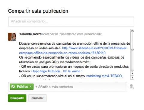 Interactúa con las publicaciones de la comunidad en Google Plus