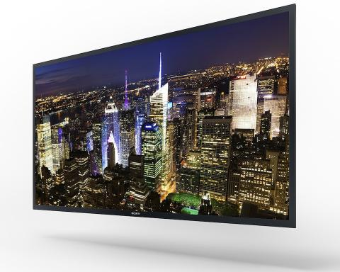 Sony presentó en CES su primer televisor OLED 4K