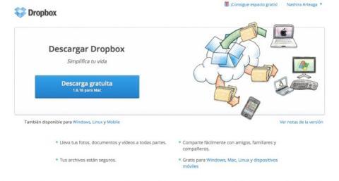 Descarga e instala la app de Dropbox