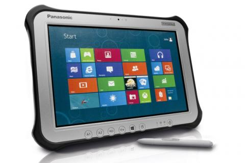 Panasonic Toughpad FZ-G1, tableta resistente con Windows 8