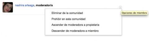 Crea moderadores en tu comunidad de Google Plus