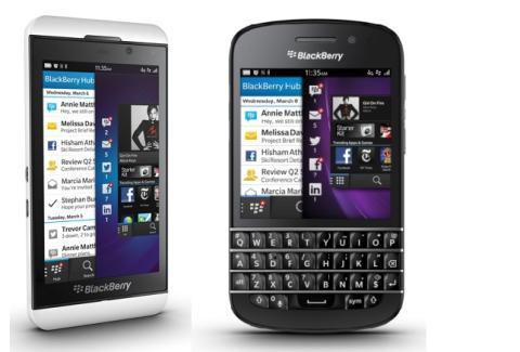BlackBerry, Z10 y Q10