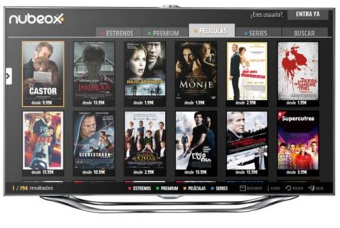 Nubeox en Samsung Apps para Smart TV