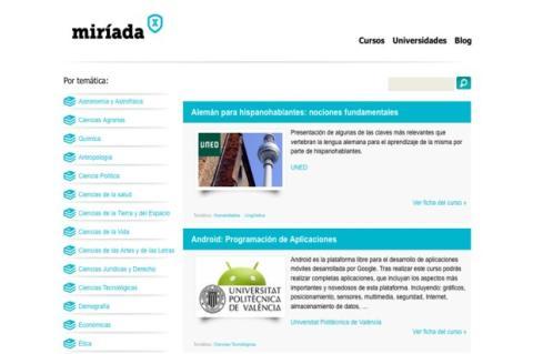 Interfaz Miríada
