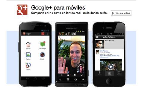 Configura la app de Google Plus en tu móvil o tablet