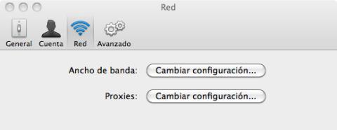 Ajusta las preferencias de Dropbox en Mac