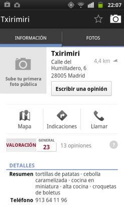 Explora tu zona en la app de Google Plus